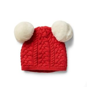Gap baby girls Hats Cable-Knit Beanie